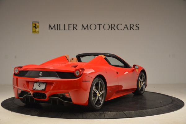 Used 2013 Ferrari 458 Spider for sale Sold at Alfa Romeo of Westport in Westport CT 06880 7