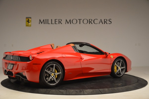 Used 2013 Ferrari 458 Spider for sale Sold at Alfa Romeo of Westport in Westport CT 06880 8