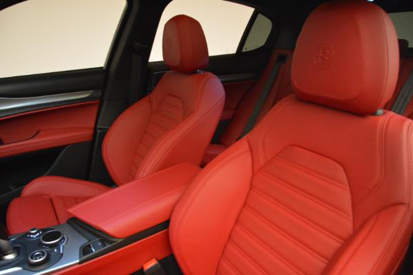 New 2018 Alfa Romeo Stelvio Ti Sport Q4 for sale Sold at Alfa Romeo of Westport in Westport CT 06880 15