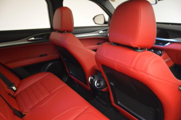 New 2018 Alfa Romeo Stelvio Ti Sport Q4 for sale Sold at Alfa Romeo of Westport in Westport CT 06880 22