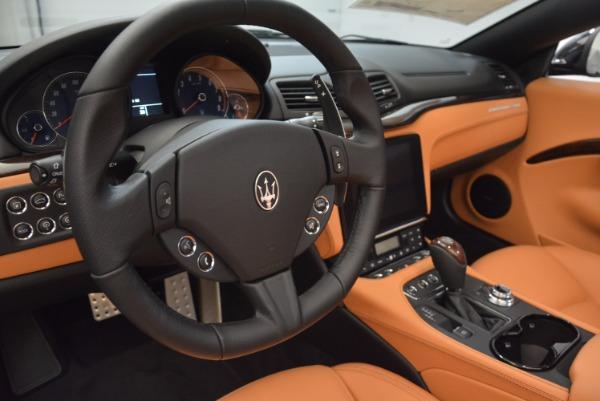 New 2018 Maserati GranTurismo Sport Convertible for sale Sold at Alfa Romeo of Westport in Westport CT 06880 27