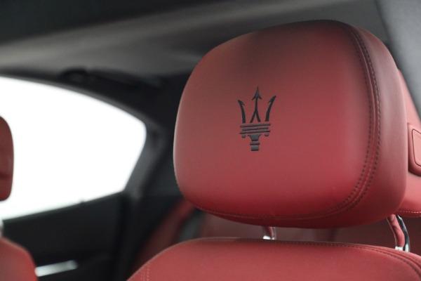 New 2018 Maserati Ghibli S Q4 GranLusso for sale Sold at Alfa Romeo of Westport in Westport CT 06880 16