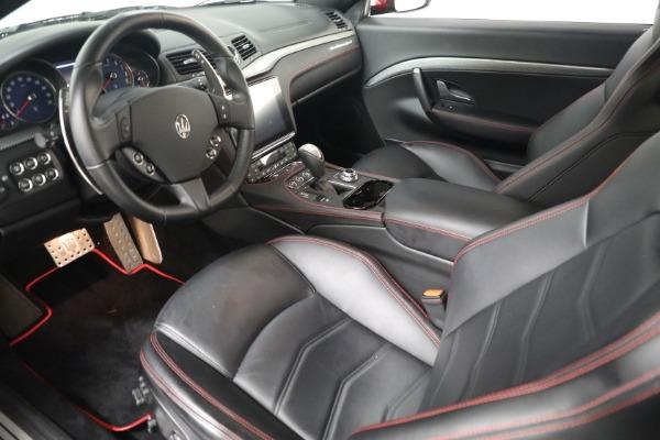 Used 2018 Maserati GranTurismo Sport for sale $94,900 at Alfa Romeo of Westport in Westport CT 06880 13