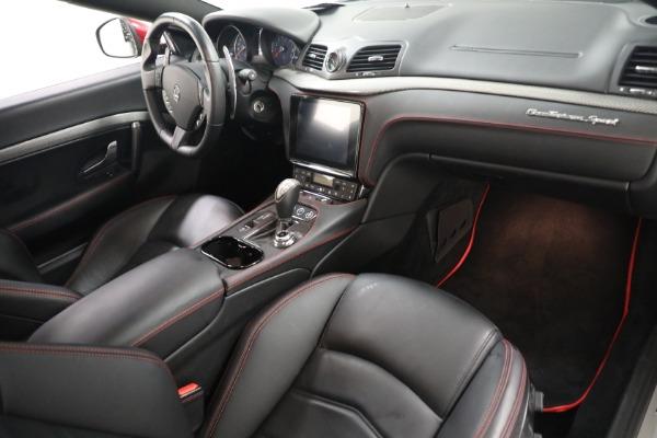 Used 2018 Maserati GranTurismo Sport for sale $94,900 at Alfa Romeo of Westport in Westport CT 06880 18