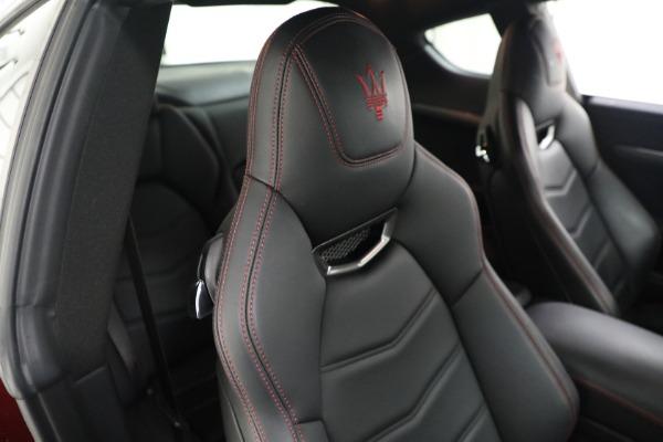 Used 2018 Maserati GranTurismo Sport for sale $94,900 at Alfa Romeo of Westport in Westport CT 06880 20