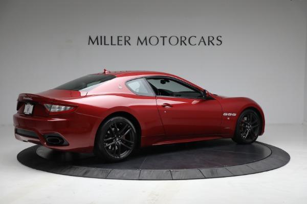 Used 2018 Maserati GranTurismo Sport for sale $94,900 at Alfa Romeo of Westport in Westport CT 06880 8