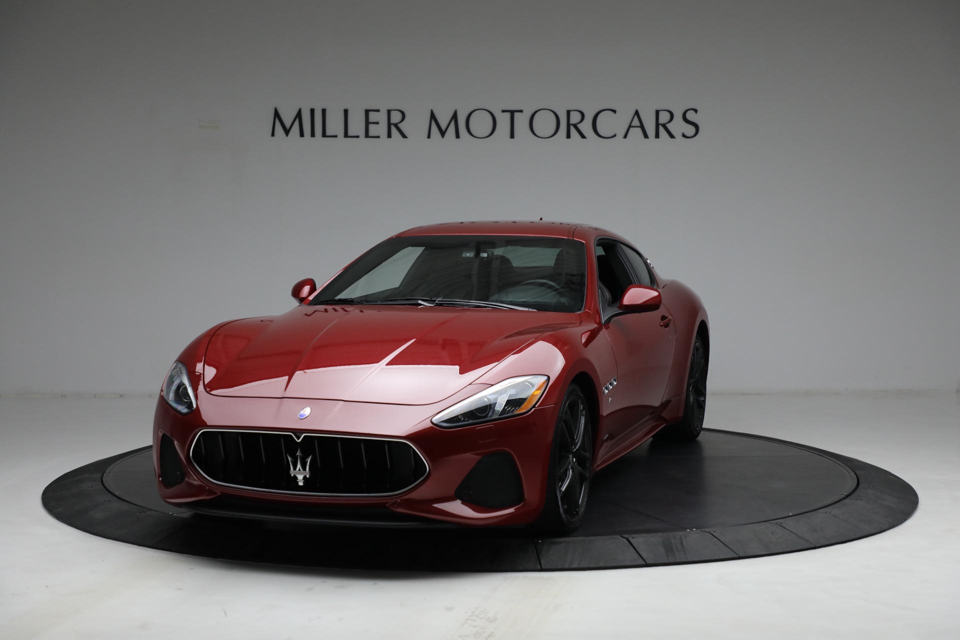 Used 2018 Maserati GranTurismo Sport for sale $94,900 at Alfa Romeo of Westport in Westport CT 06880 1