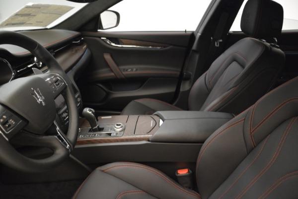 Used 2018 Maserati Quattroporte S Q4 GranLusso for sale Sold at Alfa Romeo of Westport in Westport CT 06880 14