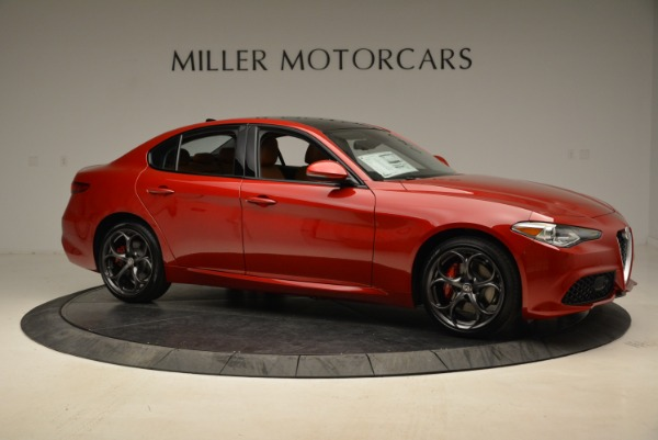 New 2018 Alfa Romeo Giulia Ti Sport Q4 for sale Sold at Alfa Romeo of Westport in Westport CT 06880 10