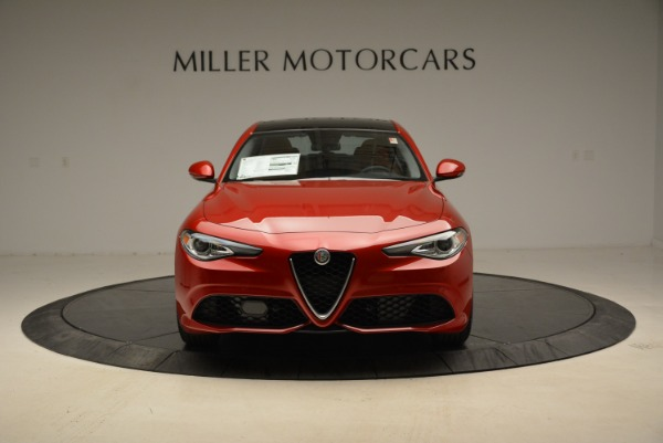 New 2018 Alfa Romeo Giulia Ti Sport Q4 for sale Sold at Alfa Romeo of Westport in Westport CT 06880 12