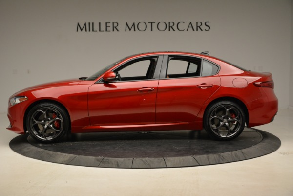 New 2018 Alfa Romeo Giulia Ti Sport Q4 for sale Sold at Alfa Romeo of Westport in Westport CT 06880 3