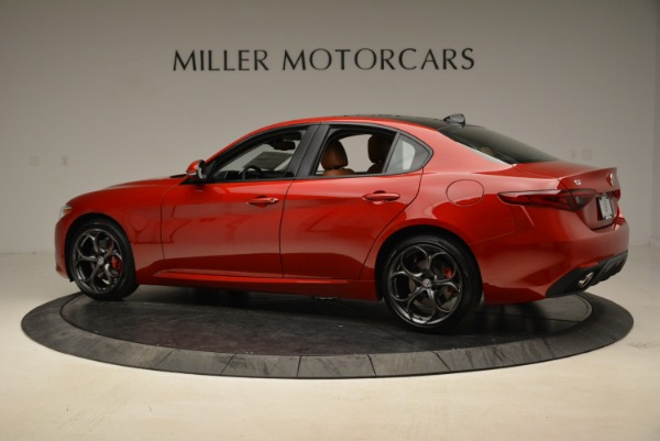New 2018 Alfa Romeo Giulia Ti Sport Q4 for sale Sold at Alfa Romeo of Westport in Westport CT 06880 4