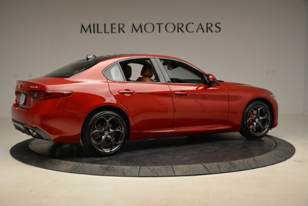 New 2018 Alfa Romeo Giulia Ti Sport Q4 for sale Sold at Alfa Romeo of Westport in Westport CT 06880 8