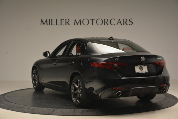 New 2018 Alfa Romeo Giulia Ti Sport Q4 for sale Sold at Alfa Romeo of Westport in Westport CT 06880 5
