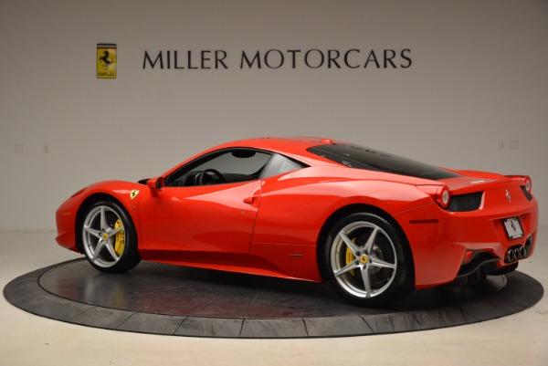 Used 2012 Ferrari 458 Italia for sale Sold at Alfa Romeo of Westport in Westport CT 06880 4