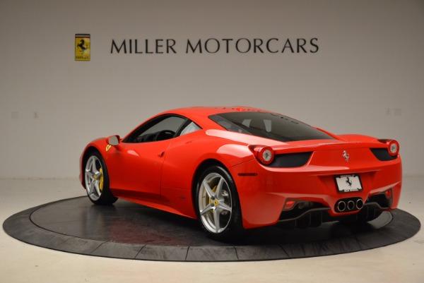 Used 2012 Ferrari 458 Italia for sale Sold at Alfa Romeo of Westport in Westport CT 06880 5