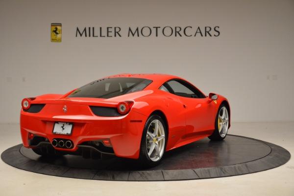 Used 2012 Ferrari 458 Italia for sale Sold at Alfa Romeo of Westport in Westport CT 06880 7