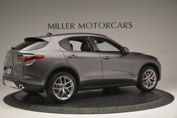New 2018 Alfa Romeo Stelvio Sport Q4 for sale Sold at Alfa Romeo of Westport in Westport CT 06880 8