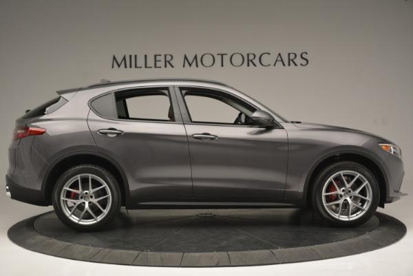 New 2018 Alfa Romeo Stelvio Sport Q4 for sale Sold at Alfa Romeo of Westport in Westport CT 06880 9
