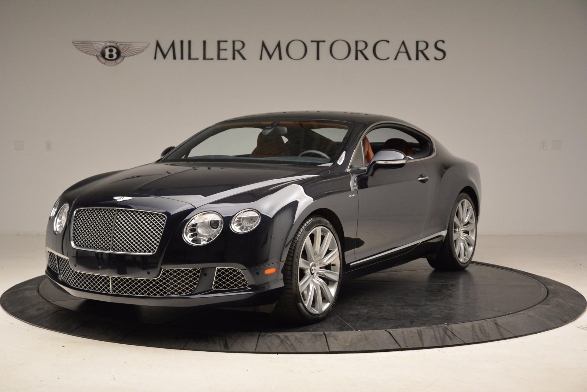 Used 2014 Bentley Continental GT W12 for sale Sold at Alfa Romeo of Westport in Westport CT 06880 1