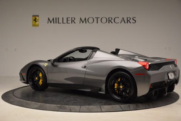 Used 2015 Ferrari 458 Speciale Aperta for sale Sold at Alfa Romeo of Westport in Westport CT 06880 4