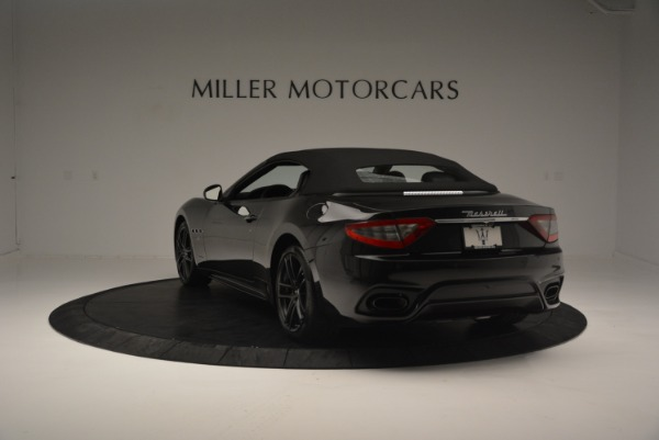 New 2018 Maserati GranTurismo Sport Convertible for sale Sold at Alfa Romeo of Westport in Westport CT 06880 7