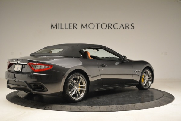 Used 2018 Maserati GranTurismo Sport Convertible for sale $92,995 at Alfa Romeo of Westport in Westport CT 06880 18