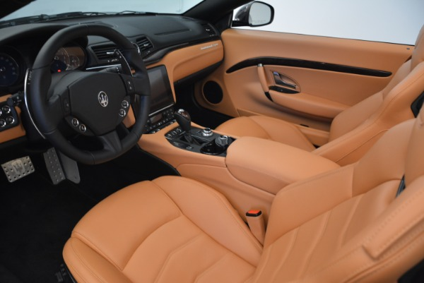 Used 2018 Maserati GranTurismo Sport Convertible for sale Sold at Alfa Romeo of Westport in Westport CT 06880 23
