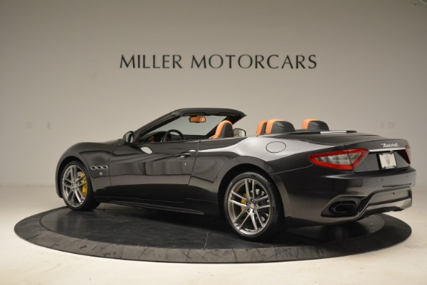 Used 2018 Maserati GranTurismo Sport Convertible for sale Sold at Alfa Romeo of Westport in Westport CT 06880 3