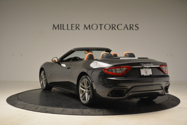 Used 2018 Maserati GranTurismo Sport Convertible for sale Sold at Alfa Romeo of Westport in Westport CT 06880 4