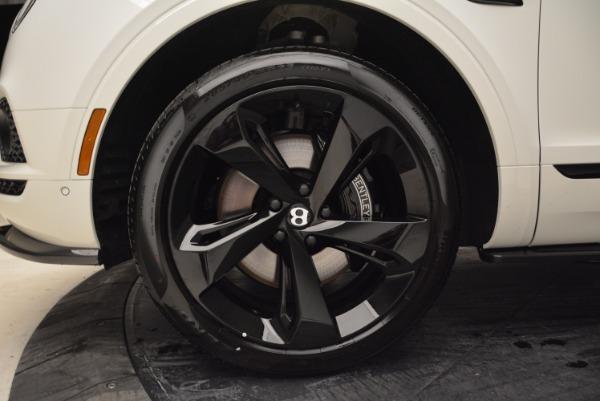New 2018 Bentley Bentayga Black Edition for sale Sold at Alfa Romeo of Westport in Westport CT 06880 19