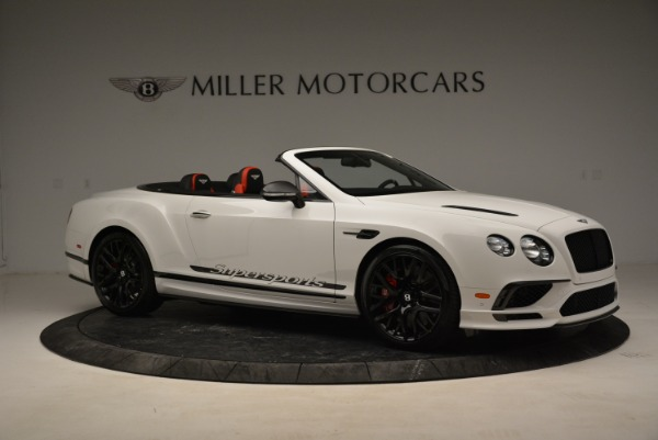 Used 2018 Bentley Continental GTC Supersports Convertible for sale Sold at Alfa Romeo of Westport in Westport CT 06880 10