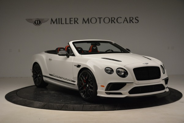 Used 2018 Bentley Continental GTC Supersports Convertible for sale Sold at Alfa Romeo of Westport in Westport CT 06880 11