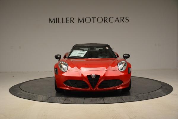 New 2018 Alfa Romeo 4C Spider for sale Sold at Alfa Romeo of Westport in Westport CT 06880 18