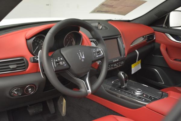 New 2018 Maserati Levante Q4 GranLusso for sale Sold at Alfa Romeo of Westport in Westport CT 06880 13
