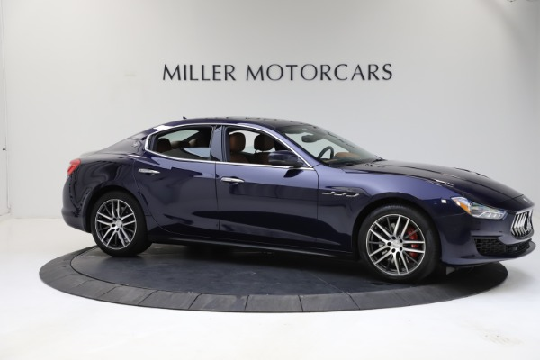 Used 2018 Maserati Ghibli S Q4 for sale Sold at Alfa Romeo of Westport in Westport CT 06880 10