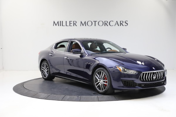 Used 2018 Maserati Ghibli S Q4 for sale Sold at Alfa Romeo of Westport in Westport CT 06880 11