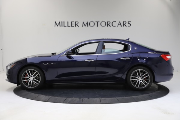 Used 2018 Maserati Ghibli S Q4 for sale Sold at Alfa Romeo of Westport in Westport CT 06880 3