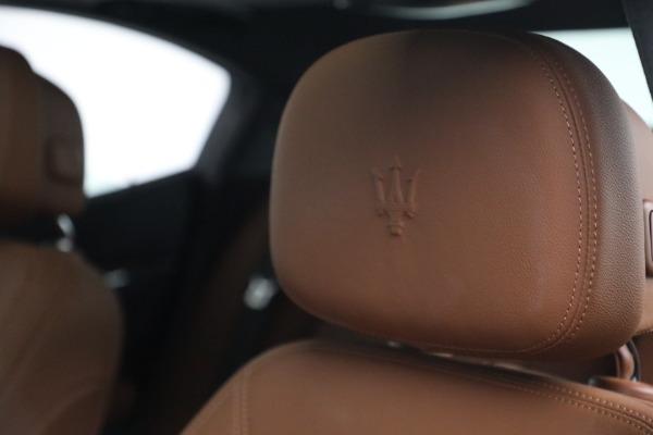 Used 2018 Maserati Ghibli S Q4 for sale $54,900 at Alfa Romeo of Westport in Westport CT 06880 16
