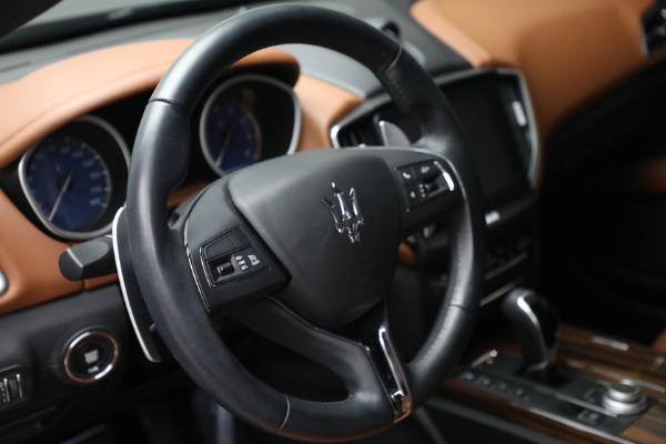 Used 2018 Maserati Ghibli S Q4 for sale $54,900 at Alfa Romeo of Westport in Westport CT 06880 17