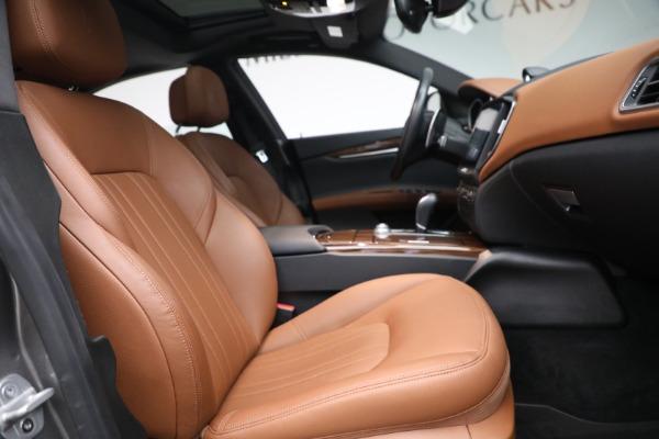 Used 2018 Maserati Ghibli S Q4 for sale $54,900 at Alfa Romeo of Westport in Westport CT 06880 26