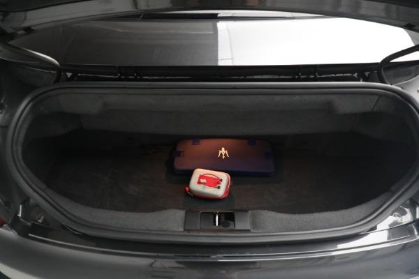 New 2018 Maserati GranTurismo MC Convertible for sale Sold at Alfa Romeo of Westport in Westport CT 06880 28