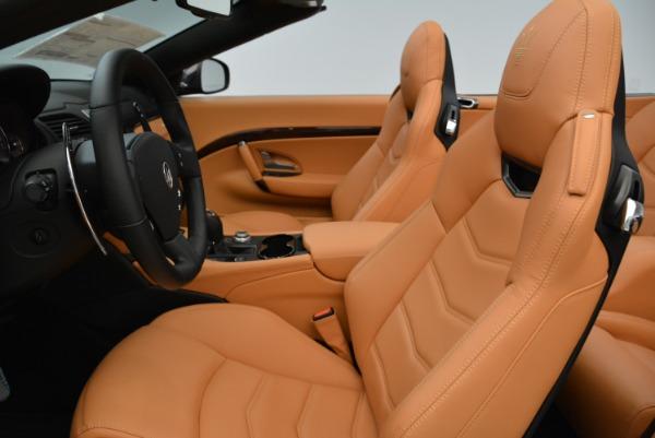 New 2018 Maserati GranTurismo Sport Convertible for sale Sold at Alfa Romeo of Westport in Westport CT 06880 25