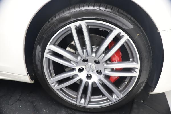 Used 2018 Maserati Ghibli S Q4 GranSport for sale Call for price at Alfa Romeo of Westport in Westport CT 06880 28