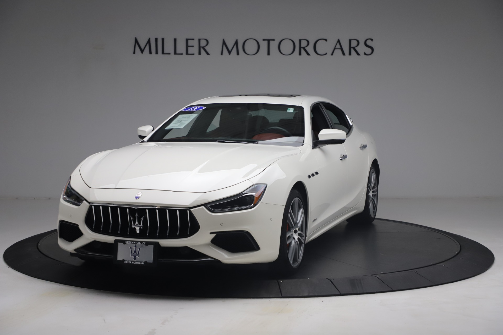 New 2018 Maserati Ghibli S Q4 GranSport for sale Sold at Alfa Romeo of Westport in Westport CT 06880 1