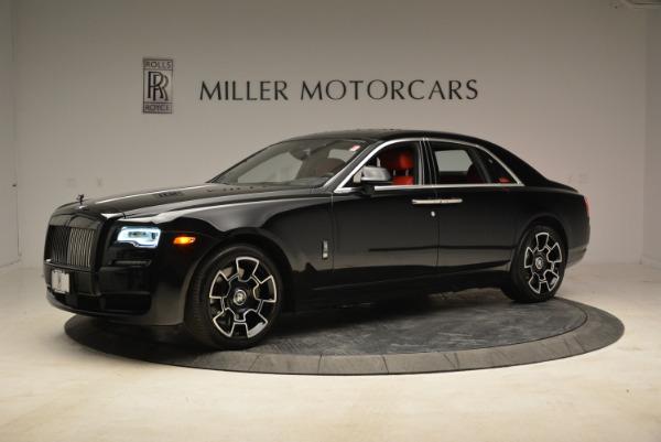 Used 2017 Rolls-Royce Ghost Black Badge for sale Sold at Alfa Romeo of Westport in Westport CT 06880 2
