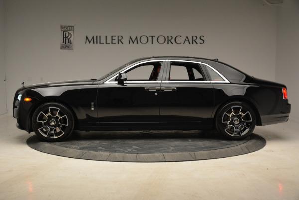 Used 2017 Rolls-Royce Ghost Black Badge for sale Sold at Alfa Romeo of Westport in Westport CT 06880 3