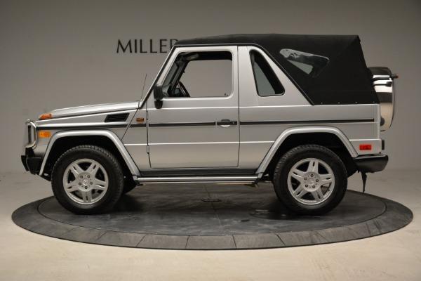 Used 1999 Mercedes Benz G500 Cabriolet for sale Sold at Alfa Romeo of Westport in Westport CT 06880 14