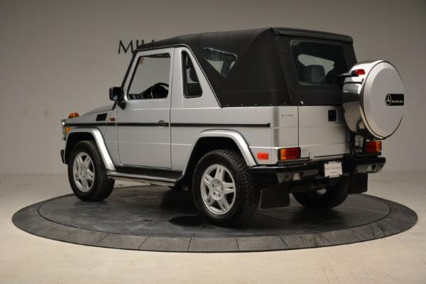 Used 1999 Mercedes Benz G500 Cabriolet for sale Sold at Alfa Romeo of Westport in Westport CT 06880 15
