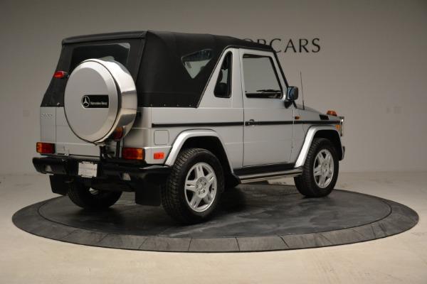 Used 1999 Mercedes Benz G500 Cabriolet for sale Sold at Alfa Romeo of Westport in Westport CT 06880 17